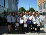Schülerinnen der HLW Riedenburg