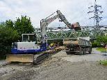 Sperre des Haldenweges durch Grabungsarabeiten
