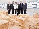 Staatssekretär Josef Ostermayer, Vizekanzler Michael Spindelegger mit Ehefrau, GF KUGES Werner Döring, Dirketor KUB Yilmaz Dziwior, Bundeskanzler Werner Faymann