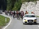 Topbesetzung beim Rad Giro am Arlberg.