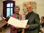"""Verleihung des Berufstitels """"Professor"""" an Peter Heiler"""