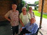 2010 besucht Norbert Lang letztmalig seinen Freund Franzl in Mellau