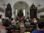 """Am Sonntag, 28. August begeistert in der Wallfahrtskirche St. Corneli die Gruppe """"RAYUELA"""" mit englischer Musik"""
