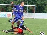 Andelsbuch-Stürmer Ueverton da Silva schoss zwei Tore im Wälderderby.