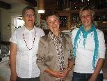 Angelika Bischofberger, Herta Kovi und Anita Feuerstein