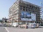 Auf dem Gewerbepark Rhomberg's Fabrik geht der Baufortschritt für das Bürohaus Quadra zügig voran.