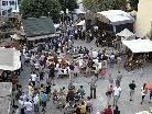 Auf dem Mittelaltermarkt wird ein buntes Programm geboten.