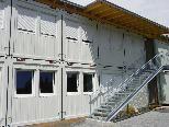 Containerklassen wurden errichtet