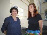 DI Barbara Keiler und DI Eva Hody vom Bundesdenkmalamt