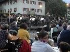 """""""Das Benefizkonzert der Militärmusik Vorarlberg war ausgezeichnet"""", meinte der Obmann der Harmoniemusik Tschagguns, David Bitschnau."""