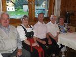 Das Ehepaar Pollmüller verbringt seit 40 Jahren seinen Urlaub in Schoppernau.
