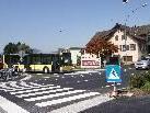 Die Anbringung der Verkehrsampel bei der Lamm-Kreuzung verzögert sich