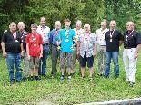 Die bei der KK-Landesmeisterschaft erfolgreichen Mitglieder der Schützengilde Hohenems.
