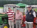 Die drei Traktorenfreunde aus der Pfalz.