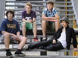 """Die junge Punkband """"THE BÄNKER"""" gibt im ehemaligen Emsigen Beisl, nunmehr Barcanp, ein Konzert."""