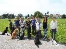 """Dieser """"Hundesitter-Kurs"""" machte allen Teilnehmern - ob an oder mit der """"Leine"""" - viel Spaß."""