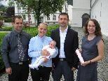 Emma Zita Lampert wurde getauft.
