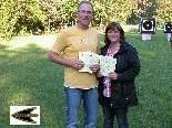 Erfolgreiche Bogensportler: Birgit und Markus Jamer
