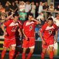 FC Dornbirn gewinnt das Derby gegen Hard mit drei Toren Differenz.