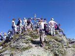"""Gipfelmesse auf der """"Madrisella"""""""