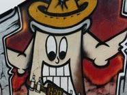 Graffitisprayer schlichen auf Gelände herum, Symbolbild