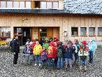 Im Rahmen der Ferienbetreuung kamen die Kids auch auf die Wandfluhhütte auf Unterpartnom