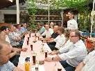 Im Sternbräu fand das traditionelle Bürgermeistertreffen statt.