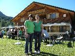 Jaqueline Rohner und Sandra Sprenger von der Alpe Rona