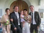 Jennifer und Günter Hämmerle feierten kirchliche Trauung