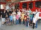 """""""Lochauer Sommerkalender 2011"""" - Erlebnisnachmittag bei der Feuerwehr."""