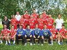 Mannschaft des Alpla HC Hard