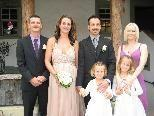 Maria Mlinaric und Patrick Marchiano heirateten.