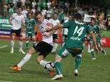 Pascal Breitenberger spielte die erste Hälfte, Favorit Austria Lustenau gewann ohne Probleme.