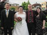 Sabrina Kremmel und Patrick Strolz haben geheiratet
