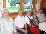 Seit 40 Jahren verbringen Waltraud und Eggbert Vogelbacher ihren Urlaub in Schoppernau.
