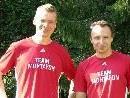 """Sven und Daniel freuen sich auf """"harte"""" Tage."""