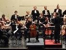 1. Abo-Konzert des SOL im SAL mit Starcellisten Maximilian Hornung.