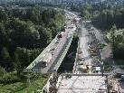 Adaptierungen der Ausfahrt Bregenz am Pfänder-Südportal erfordern derzeit eine Sperre bis voraussichtlich Anfang Oktober.