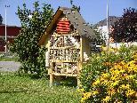 Altach: Von uns gestalteten Insektenhotel