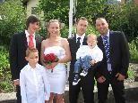 Angelina Zorbic und Dominik Cuka heirateten.