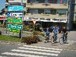 """Beim """"Engel""""-Kreisverkehr sind die Radfahrer am meisten gefährdet."""