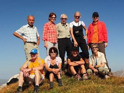 Bergtour Pfaffenck und Pöngertlekopf 2539m