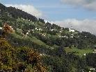 Blick von Vandans nach Bartholomäberg am 13. September 2011.