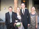 Claudia Spettel und Bernd Blum heirateten.