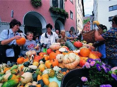 Das Bludenzer Erntedankfest findet am Samstag den 24. September von 9 bis 14 Uhr statt.