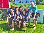 Das Höchster Damenfaustballteam spielt in der höchsten Schweizer Liga mit.