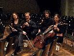 """Das epos:quartett  eröffnet die Konzertreihe """"Pforte im Frauenmuseum""""."""