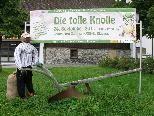 """Der Obst und Gartenbauverein Bludesch präsentiert die Kartoffel als """"tolle Knolle"""""""