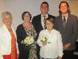 Doris Mock und Thomas Vinzenz haben geheiratet