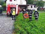 Feuerwehrübung in Gaißau